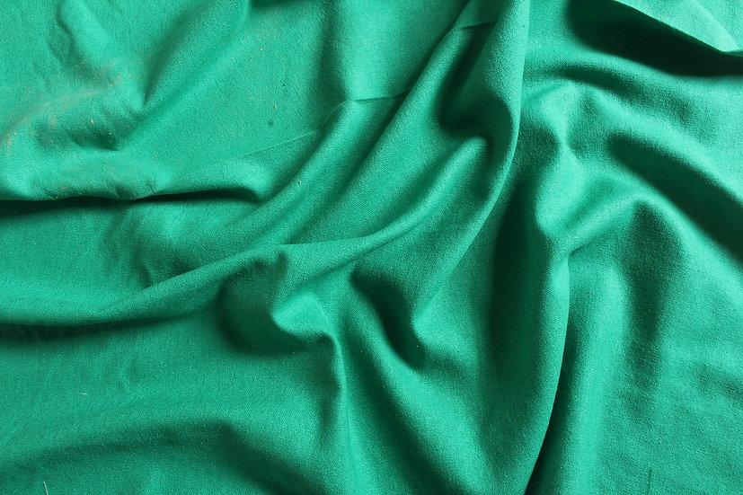 Bright Green Silk Noil