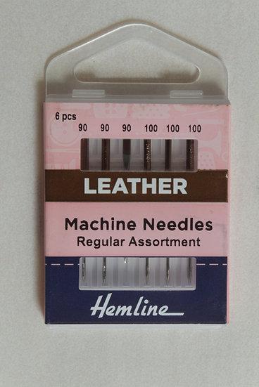 Leather Asst x 6 Mach Needles