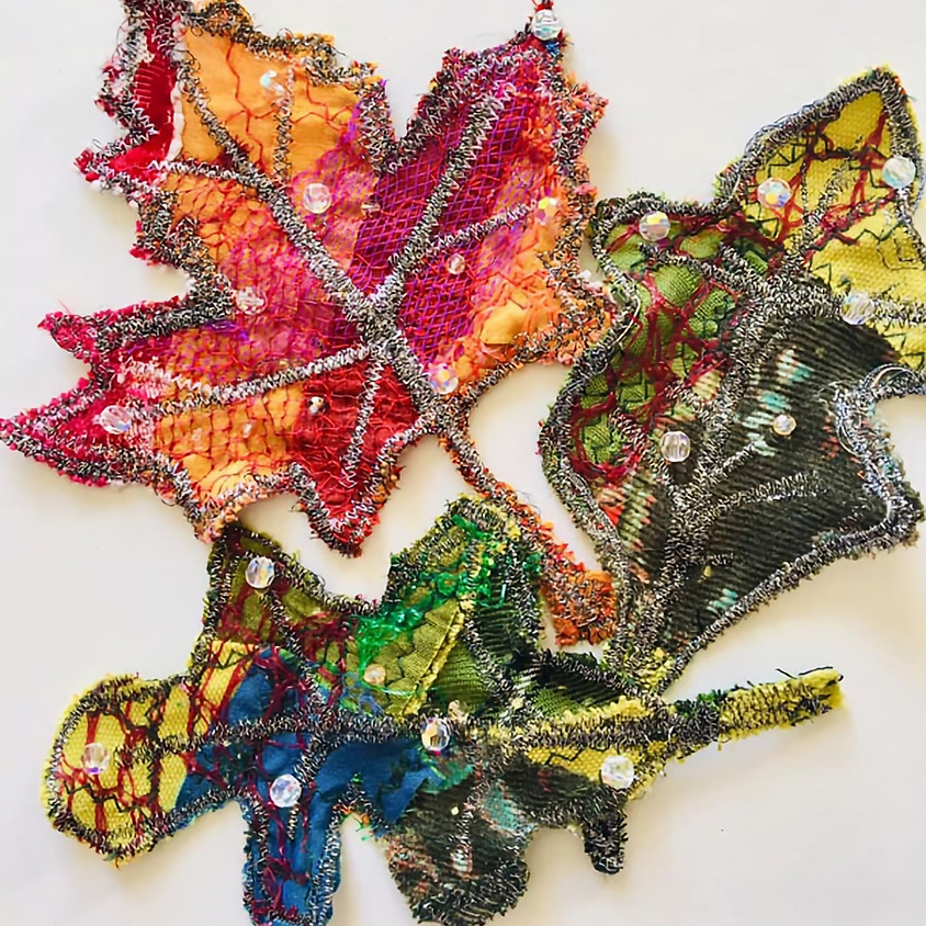 Gorgeous Scrappy Leaves & Insects with Debra Wade