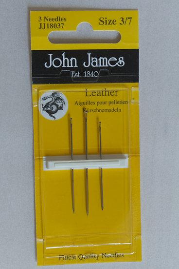 John James Leather x3