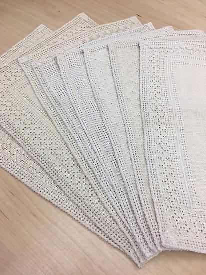 Set of Linen Table Mats