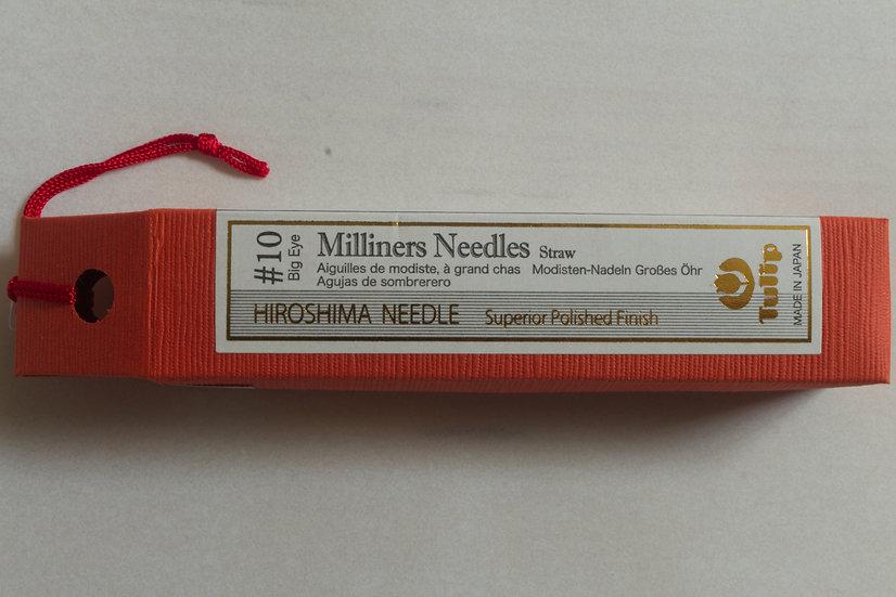Tulip Milliners Needles #10 Big Eye