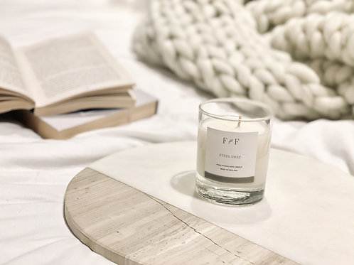 Steel Grey | Natural Soy Candle