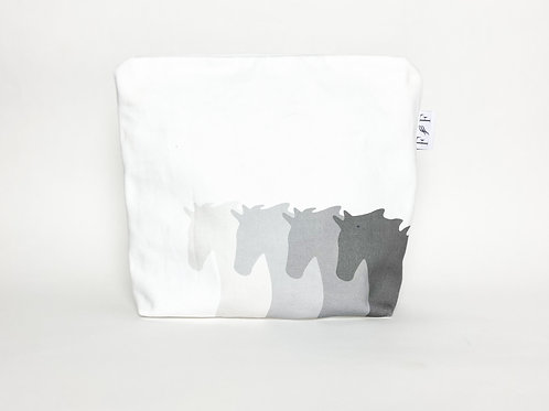 Four Shades of Grey | Extra large wash bag