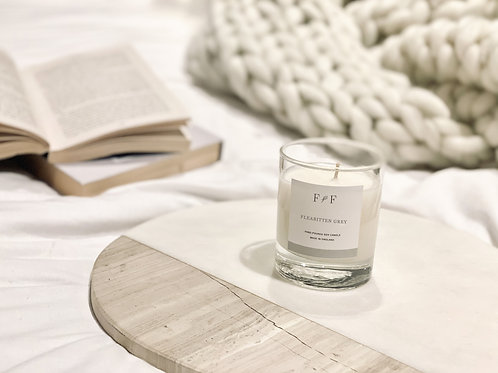 Fleabitten Grey   Natural Soy Candle