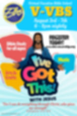 Copy of Vacation Bible School Poster Tem