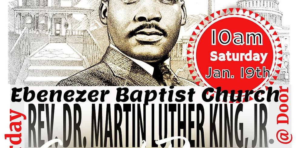 Rev. Dr. Martin Luther King, Jr. Annual Prayer Breakfast