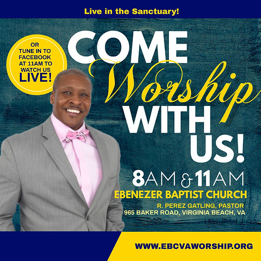 EBC - Sunday Worship Flyer - Made with P