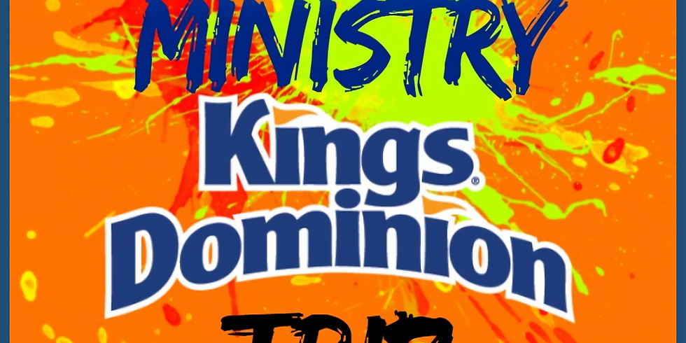 Youth Ministry Kings Dominion Trip