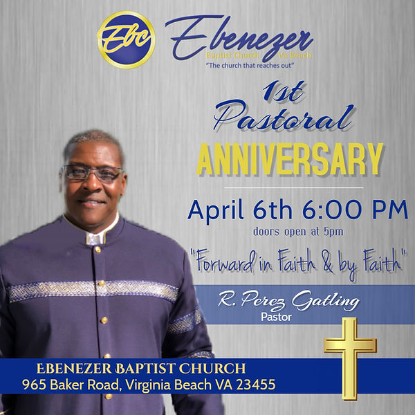 Pastor 1st Anniversary - Made with Poste