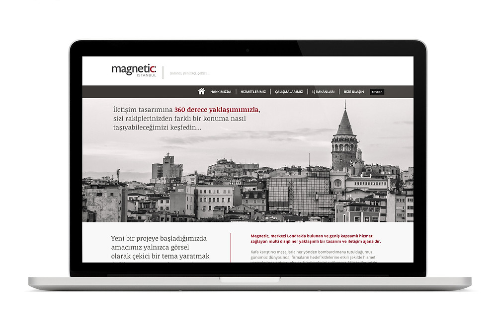 Magnetic Istanbul new website
