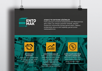Print design example for Entomak
