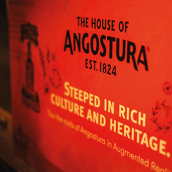 A print work created for Angostura