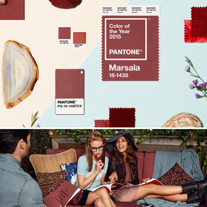 Take note of the Colour of the Year 2015: Marsala!