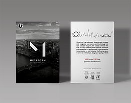 Magnetic London Print Design for Metaform