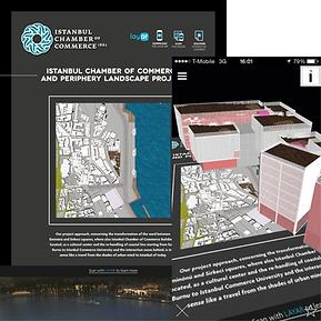 Magnetic London Augmented Reality Design for Istanbul Chamber of Commerce