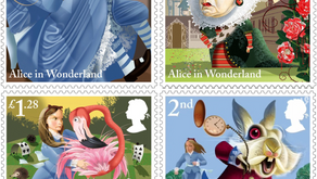 150 years of Alice in Wonderland celebrated by the Royal Mail