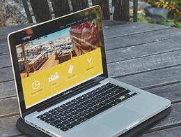Magnetic London Web Design for Fly-Inn