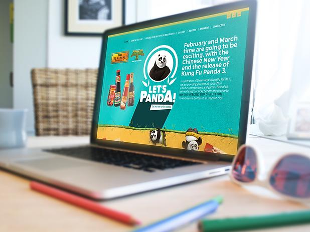 Creative campaign management and design. Kung Fu Panda 3