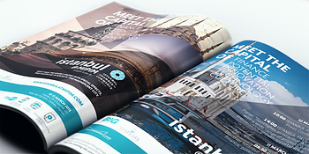 Magnetic London Print Design for MIPIM