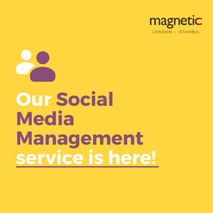 Social Media Management by Creative Agency Magnetic London