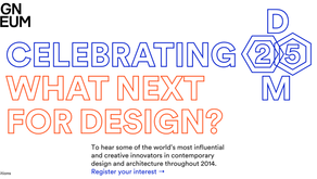 What Next for Design? The Design Museum Celebrates 25 Years!