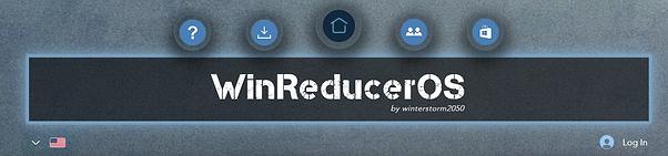 WinReducerOS Website Menu