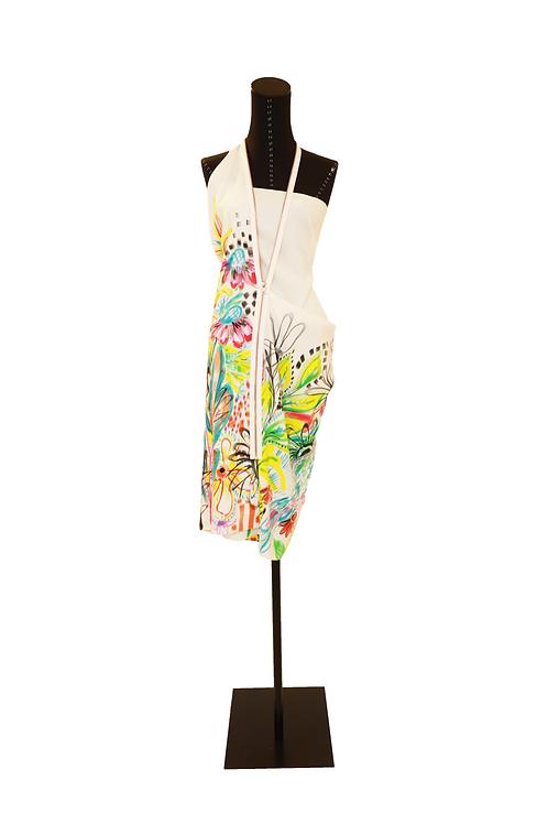 Short Summer Dress With Front Zipper