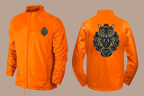 Owl Hoodless Wind Breaker