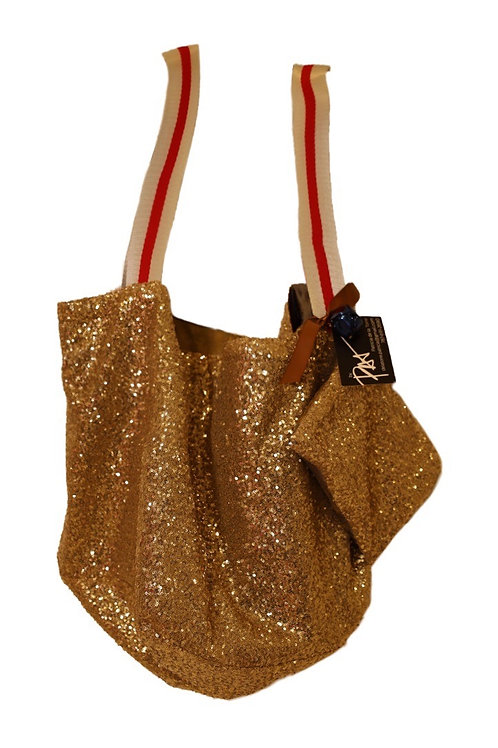 Gold Sequence Bag