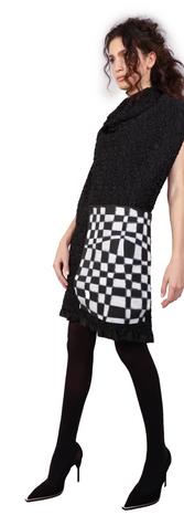 Draughts Ruffle Dress