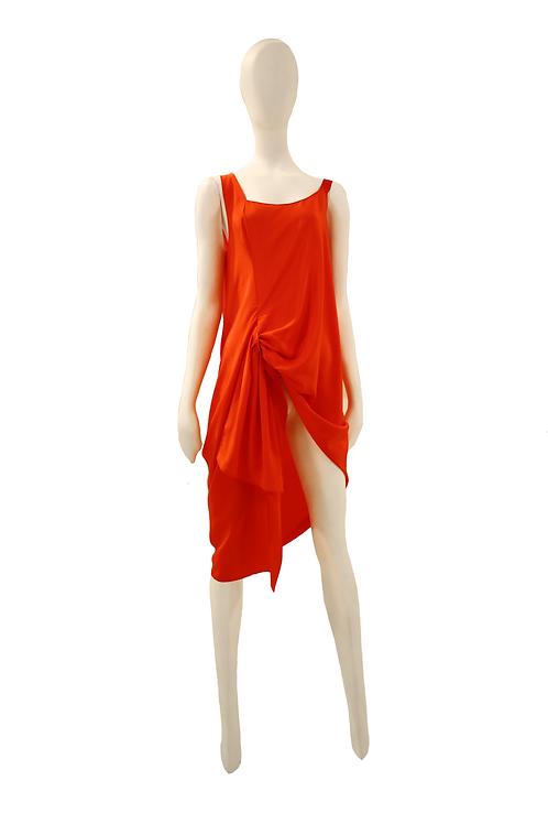 Persian Orange Dress