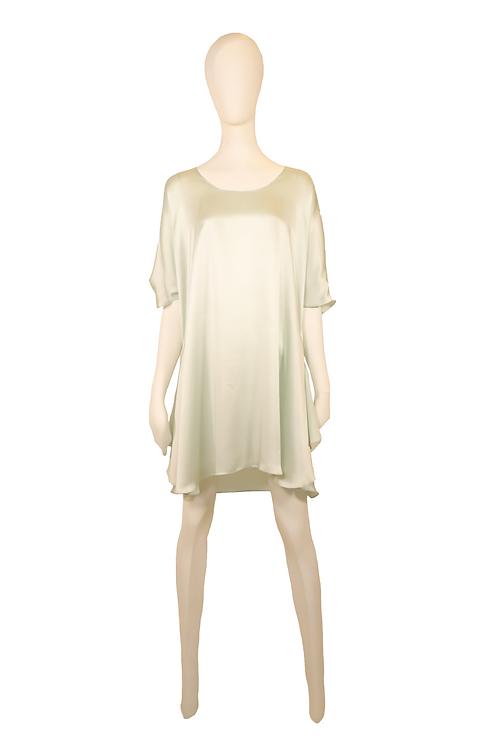 Mint Satin Dress