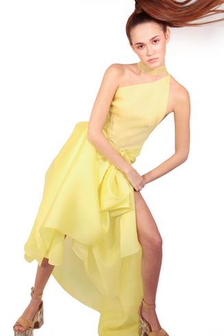 Yellow Aristocrat Dress