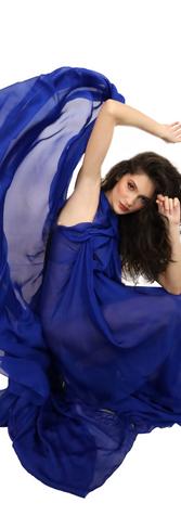Blue Nacreous Dress