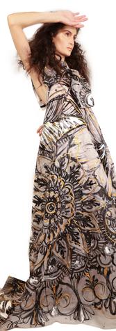 Royal Henna Dress