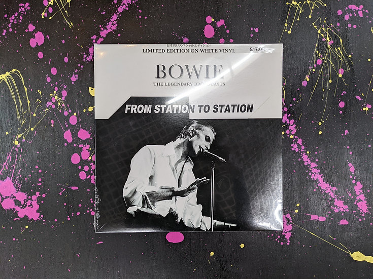 David Bowie - From Station To Station (The Legendary Broadcasts) - Vinyl