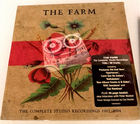 The Farm complete Studio Recordings Box Set