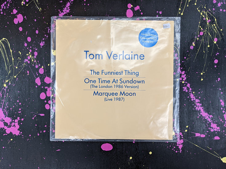 Tom Verlaine - The Funniest Thing - Vinyl