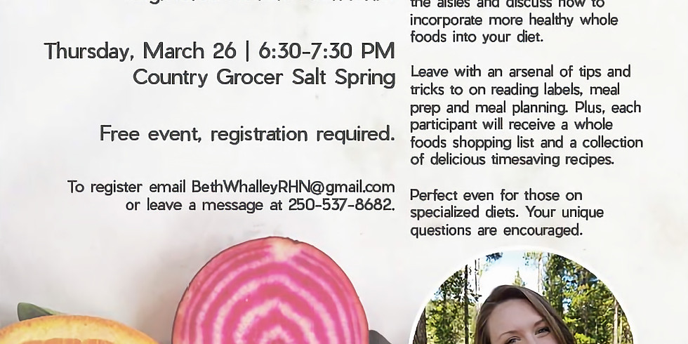 Shop Like a Nutritionist: Country Grocer Tour