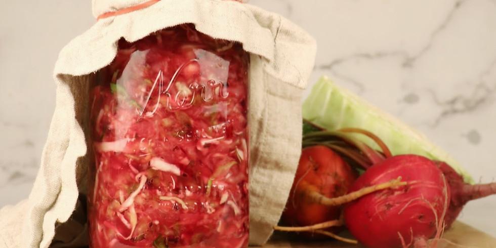 DIY Fermented Food Series: Sauerkraut & Kimchi