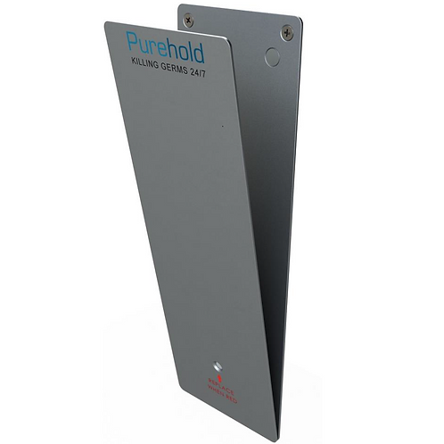 PureHold Push Standard - Wall bracket & Plate