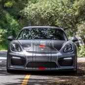 Porsche Acrapovic carwrap