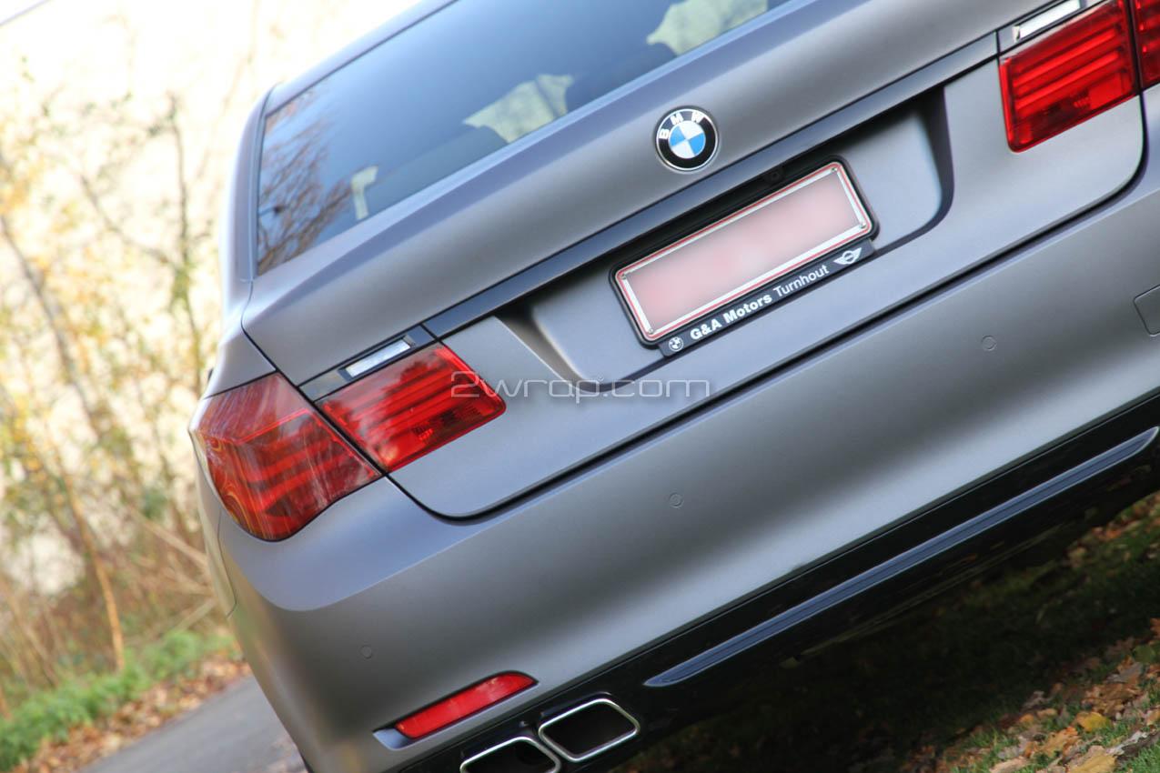 BMW vehicle wrap