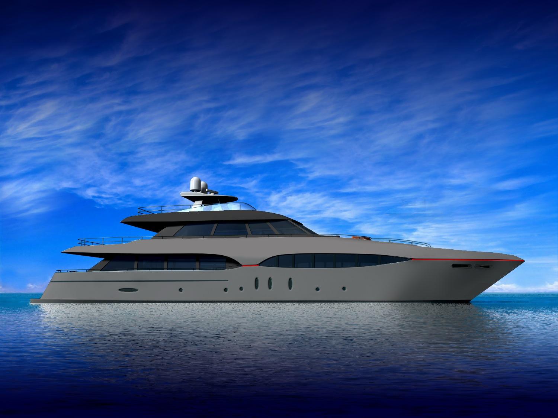 yacht grey matt