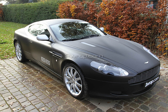 Aston Martin DB9 V12 Frozen Black