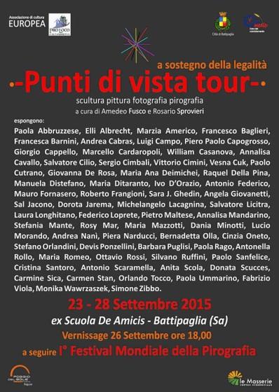 PUNTI DI VISTA TOUR