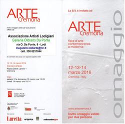 ARTE CREMONA 2016