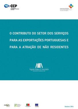"""""""O contributo do sector dos serviços para as exportações protuguesas e para a atração de não residentes"""""""