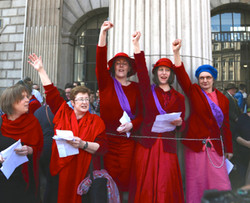 Pro-choice Proclamation at the GPO